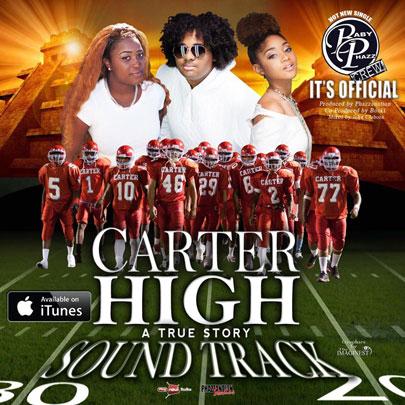 Marketing for Carter High Movie Soundtrack